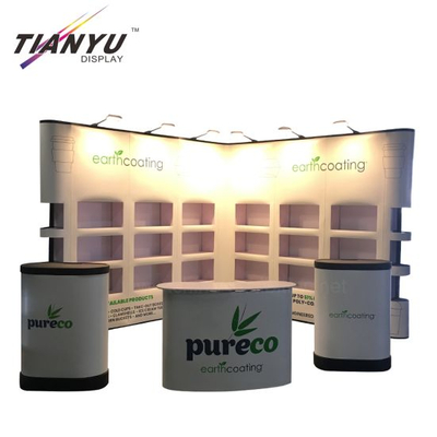 Pop up magnetico Display Stand in alluminio Banner stand