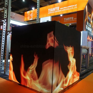 Indoor Video Wall LED Collegamento al sistema Series per Tradeshow Booth