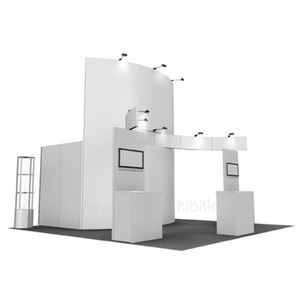 Economico fai da te modulare Exhibition Booth display 20X20