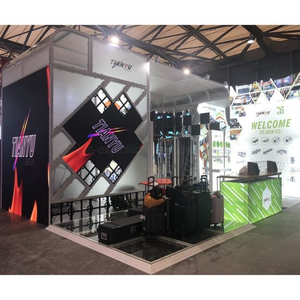 Big Pubblicità Trade Show Exhibition Booth P2.81 ​​pannello LED / Schermo / Video Wall